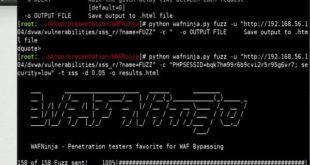 Bypass Web Application Firewall using WAFNinja - blackMORE Ops
