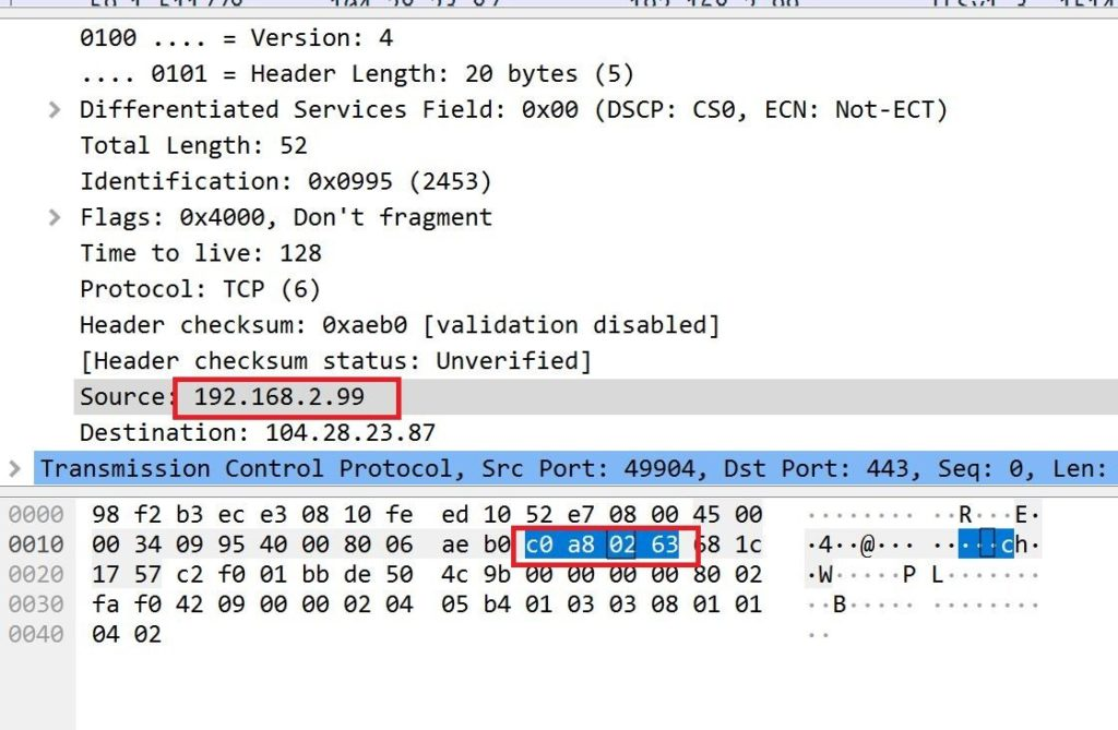 Finding your IP to Hex value in pcap file - blackMOREOps - 3