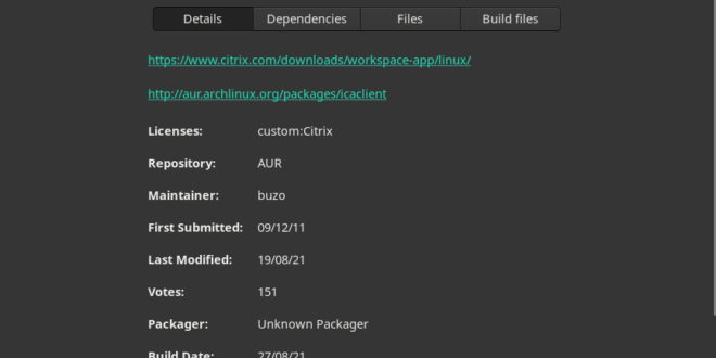 Install and Run Citrix Workspace on Linux
